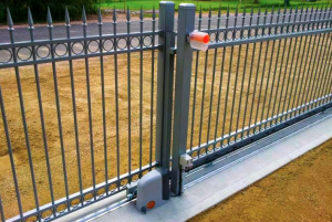 Concrete Sliding gate Tracks